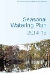 Seasonal Watering Plan 2014-15