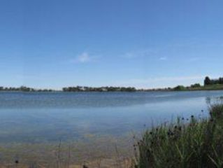 Round Lake in north-central Victoria