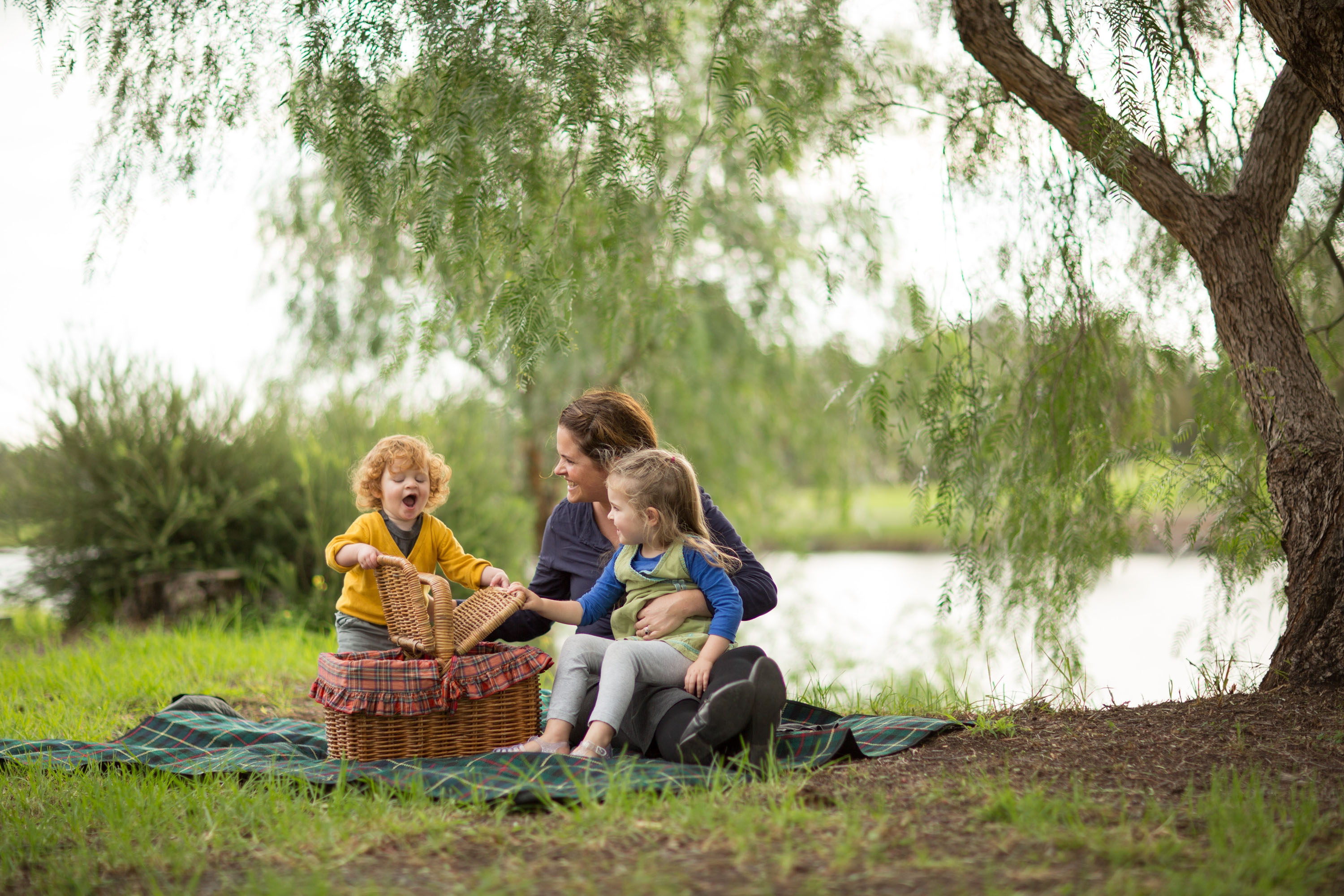 Family picnic at Maribyrnong River, by Chris Kapa. Image courtesy of Melbourne Water